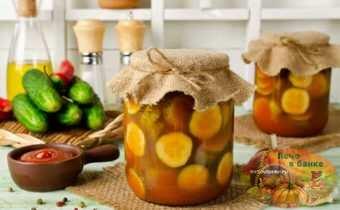 Кабачки в томате на зиму — обалденный рецепт