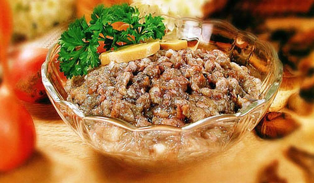 Рецепт грибной икры на зиму