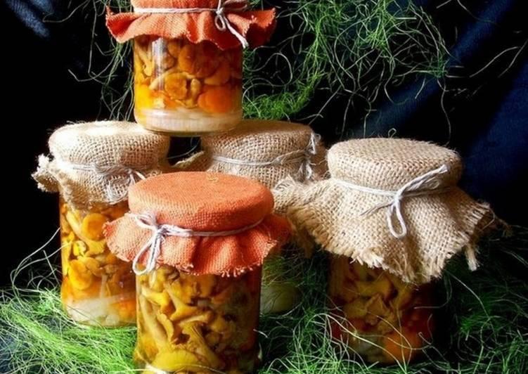 Как солить лисички в домашних условиях рецепт