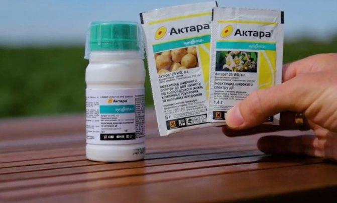 Инструкция по применению препарата актара: состав, когда и как обрабатывать