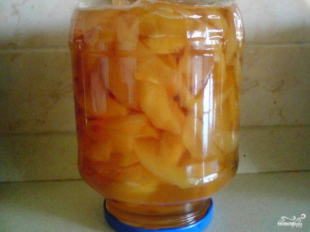 5 лучших рецептов приготовления маринованных персиков на зиму