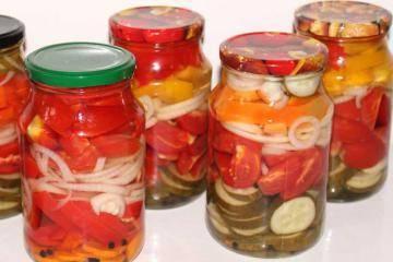 Ассорти из огурцов и помидоров на зиму — очень вкусные рецепты маринования