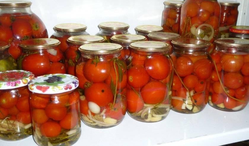 Помидоры на зиму — 20 рецептов маринования помидоров