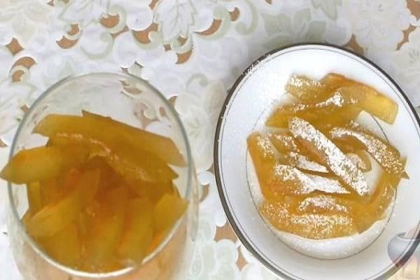 Простой пошаговый рецепт приготовления варенья из корок дыни на зиму