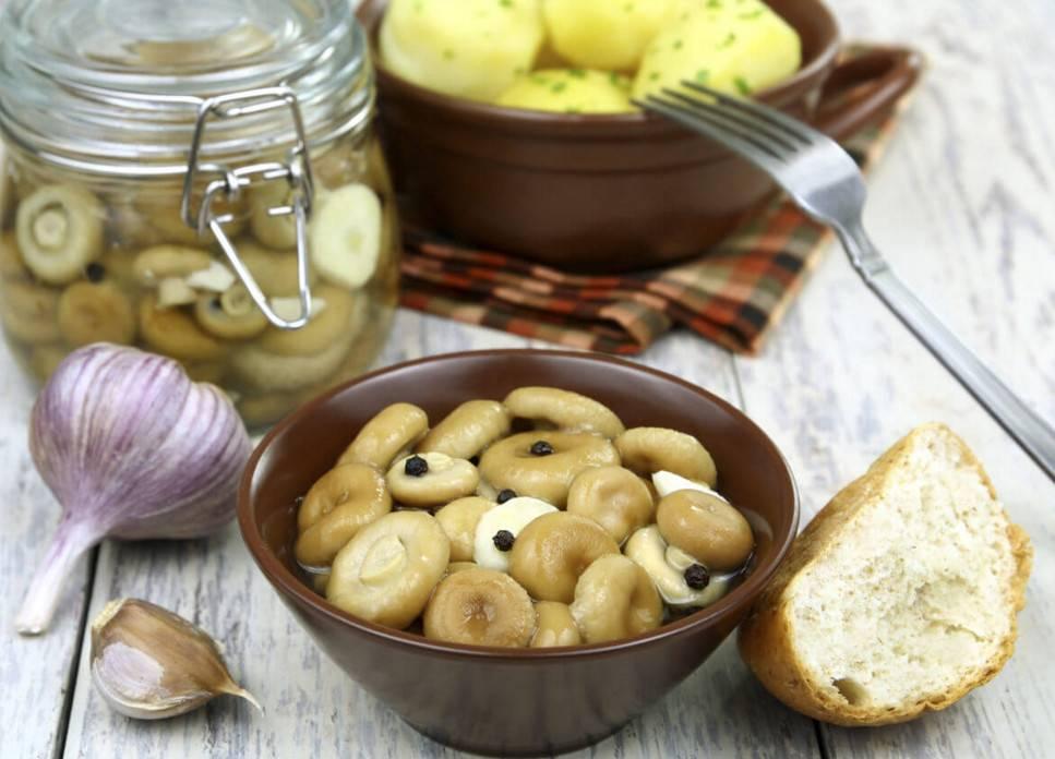 Пошаговый рецепт с картинками – маринованные волнушки с уксусом, вместе с рыжиками и без замачивания