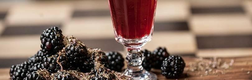 9 простых рецептов приготовления вина из ежевики в домашних условиях