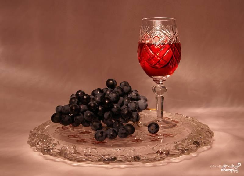 Готовим сладкое вино на дому