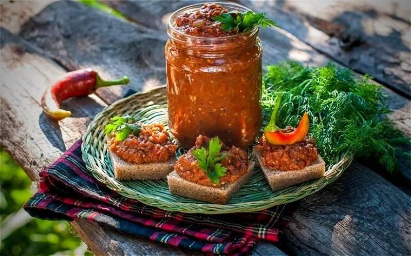 Икра из баклажанов на зиму: рецепты. как приготовить вкусную икру из баклажанов на зиму?