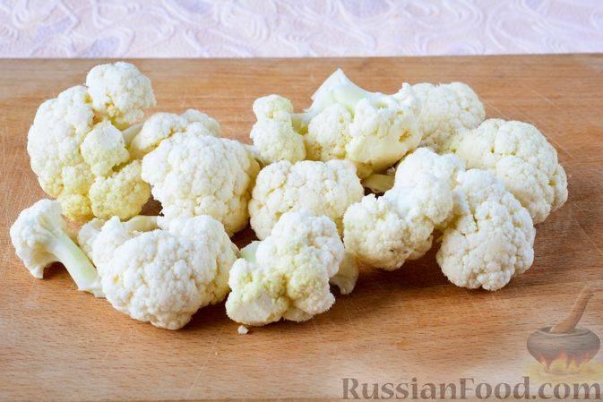 Необыкновенно вкусная и полезная маринованная цветная капуста — пошаговые рецепты быстрого приготовления