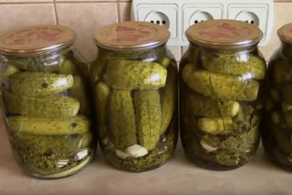 Маринованные огурцы на зиму — 7 рецептов хрустящих огурчиков в банке