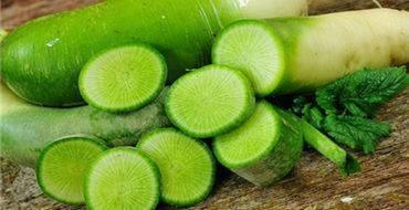 Природная польза и минимальный вред от зелёной редьки