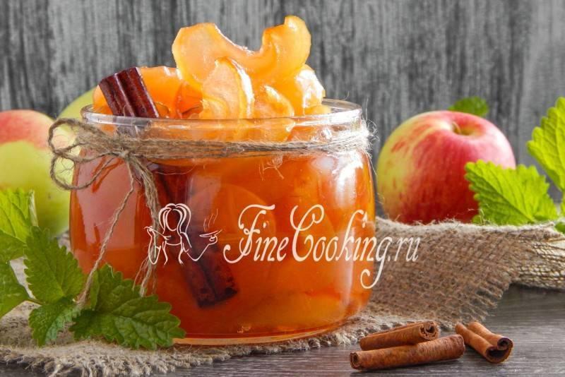 Прозрачное варенье из целых яблок