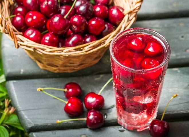 Компот из вишни на зиму — пошаговые рецепты на 3 литровую банку