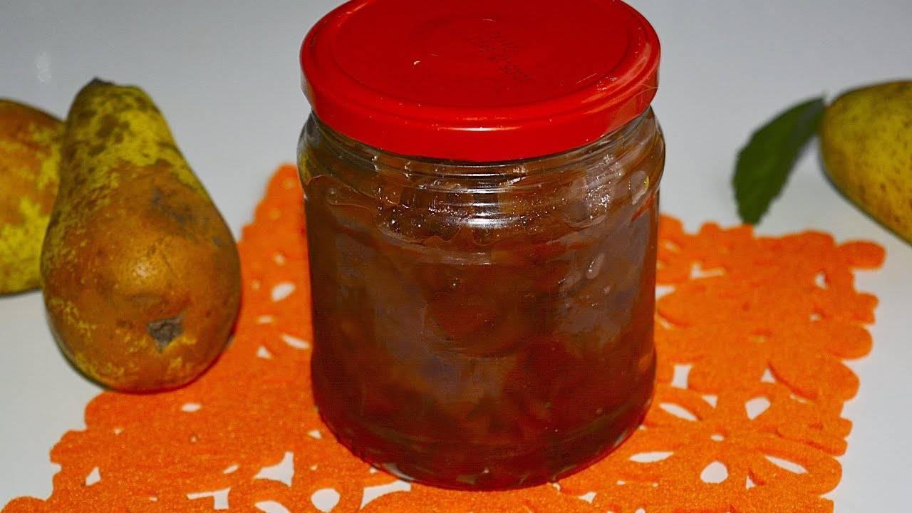 Янтарное варенье из груш на зиму дольками — 9 простых рецептов пальчики оближешь
