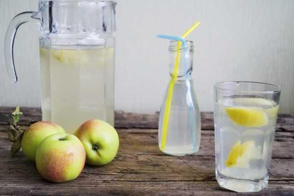 Яблочный компот из свежих яблок на зиму в 3-х литровой банке