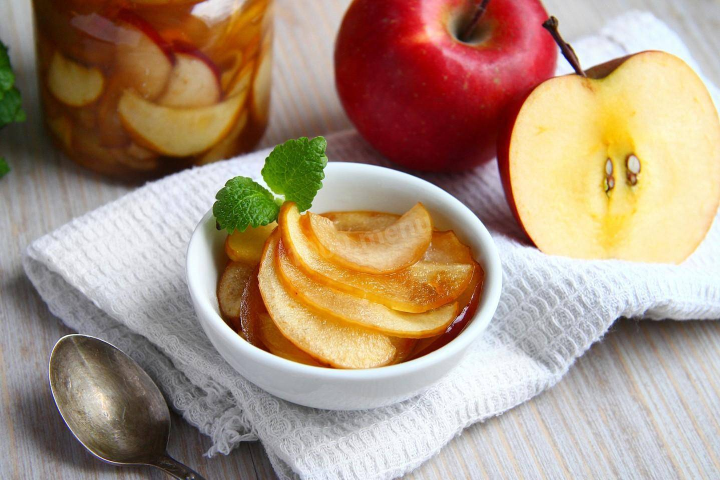Яблочное варенье: 14 рецептов пошаговых с фото