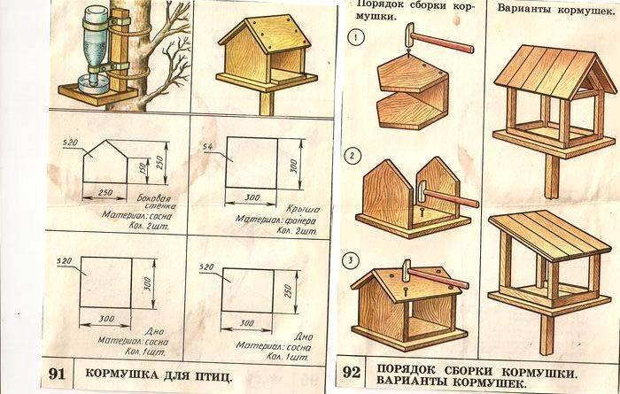Как сделать кормушку для кур своими руками