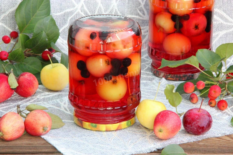Пошаговый рецепт приготовления компота из яблок без сахара на зиму
