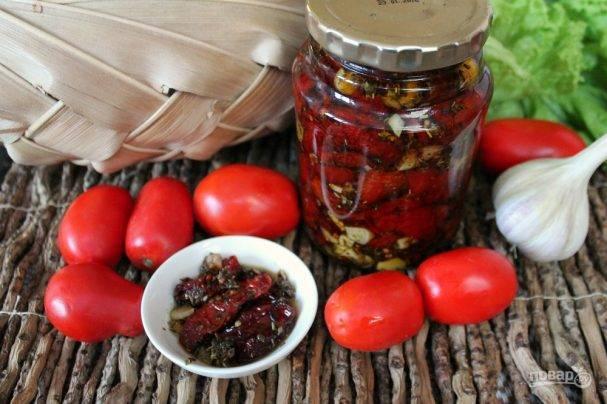 Вяленые помидоры в сушилке для овощей в домашних условиях: рецепт с видео