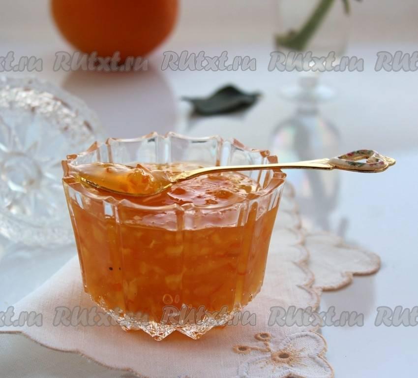 Апельсиновый джем с цедрой