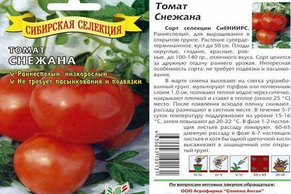 что томат успех характеристика и описание сорта фото распознать