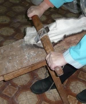 Правила выделки овечьей шкуры в домашних условиях
