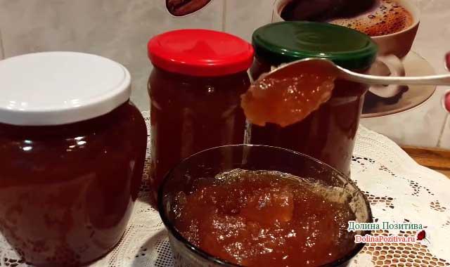 Яблочный джем через мясорубку на зиму. конфитюр из яблок: ароматное лакомство на зиму