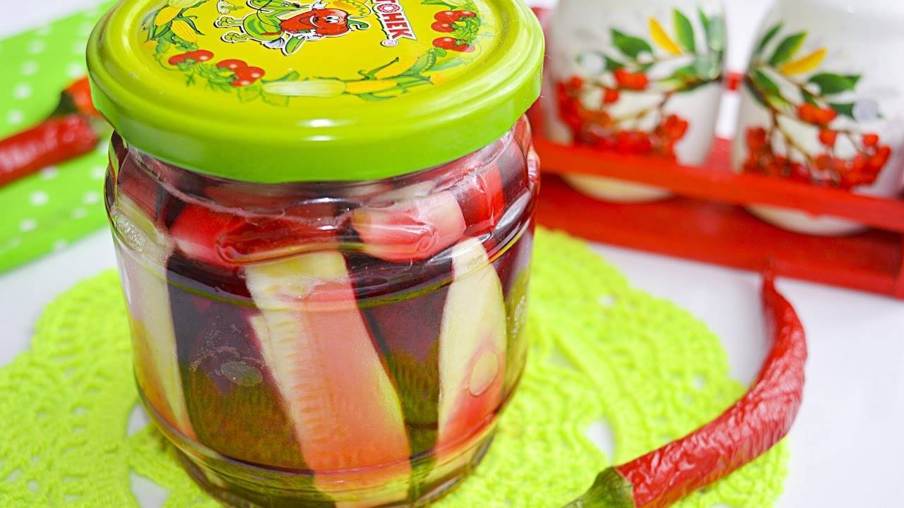 Рецепты маринования кабачков со свеклой на зиму