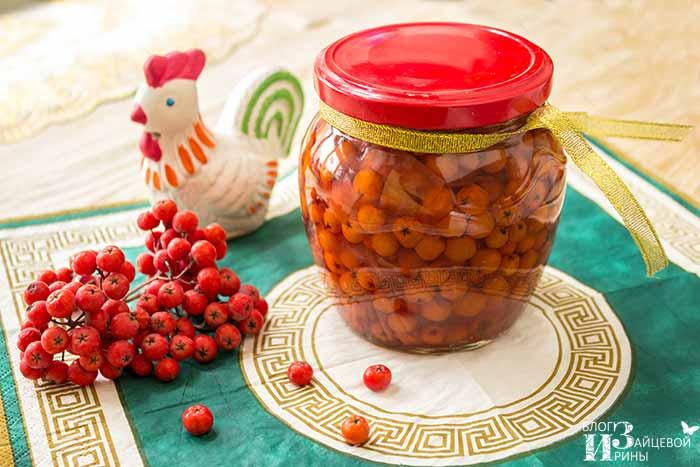 Как заготовить красную рябину на зиму — проверенные домашние рецепты