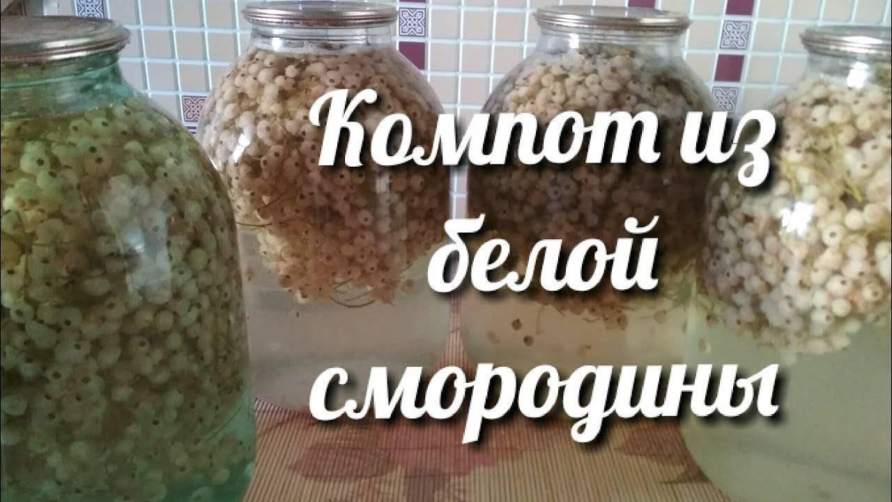 Как заготовить белую смородину на зиму