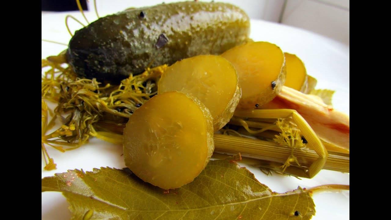 ТОП 6 рецептов приготовления маринованных огурцов с хреном на зиму