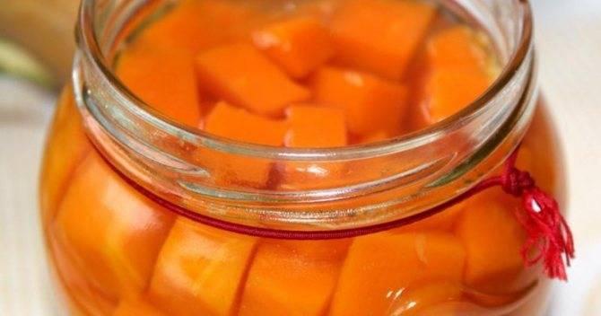 Как приготовить компот из тыквы на зиму?