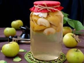 Компот из яблок и винограда: простой рецепт на зиму с фото и видео