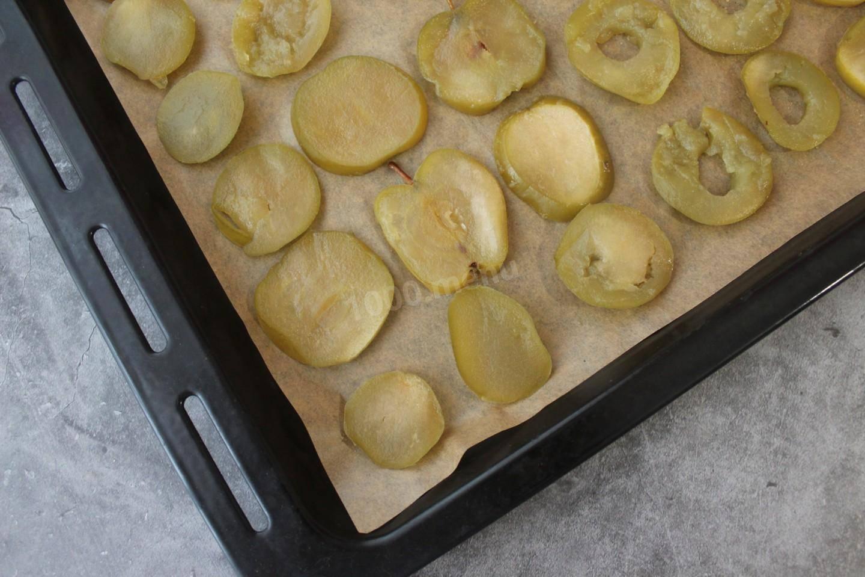 Яблочные цукаты из яблок