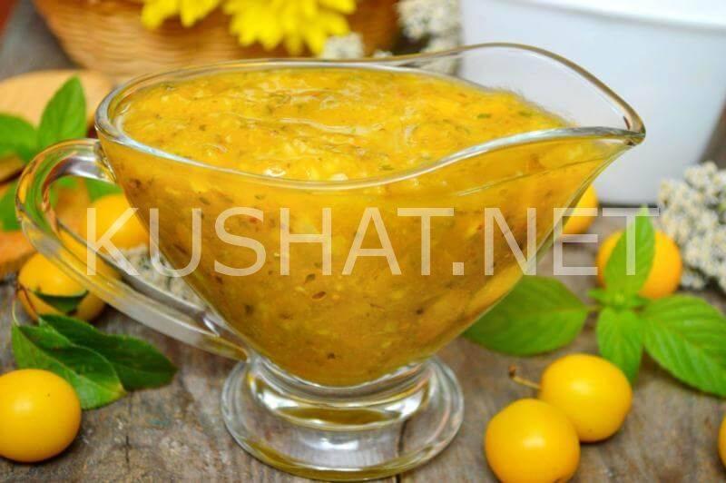 ТОП 17 классических рецептов приготовления соуса ткемали из сливы на зиму