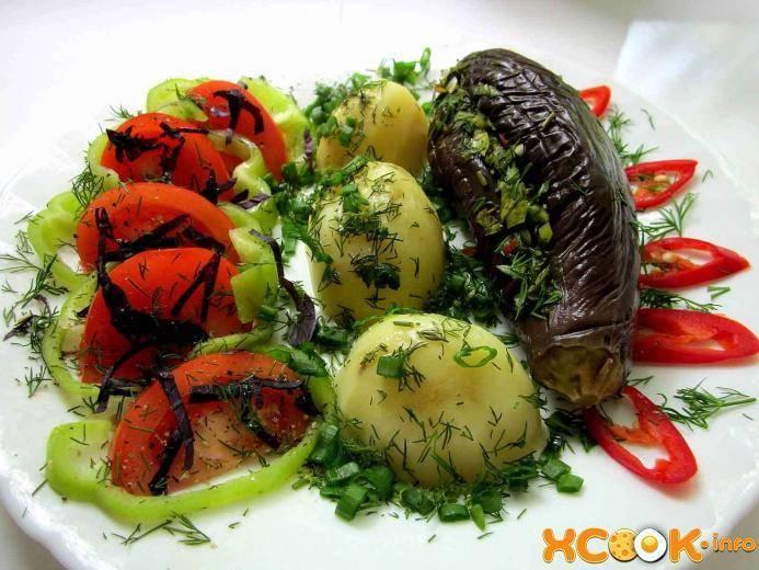 Жареные баклажаны с чесноком: 181 домашних рецептов