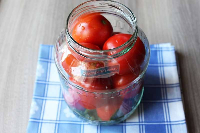 Маринованные помидоры в банках на зиму — 7 рецептов с фото идеальной заготовки томатов