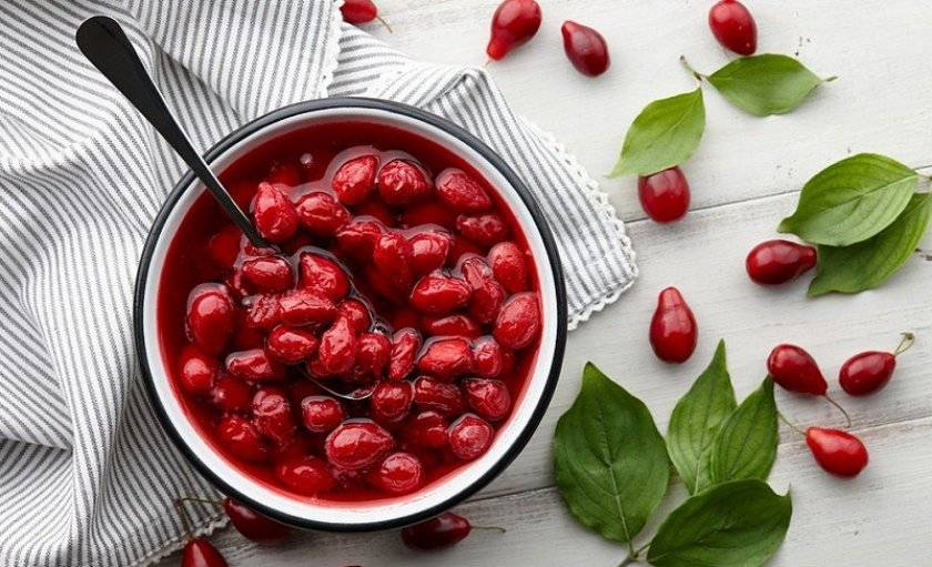 Варенье из кизила на зиму — простые рецепты с фото