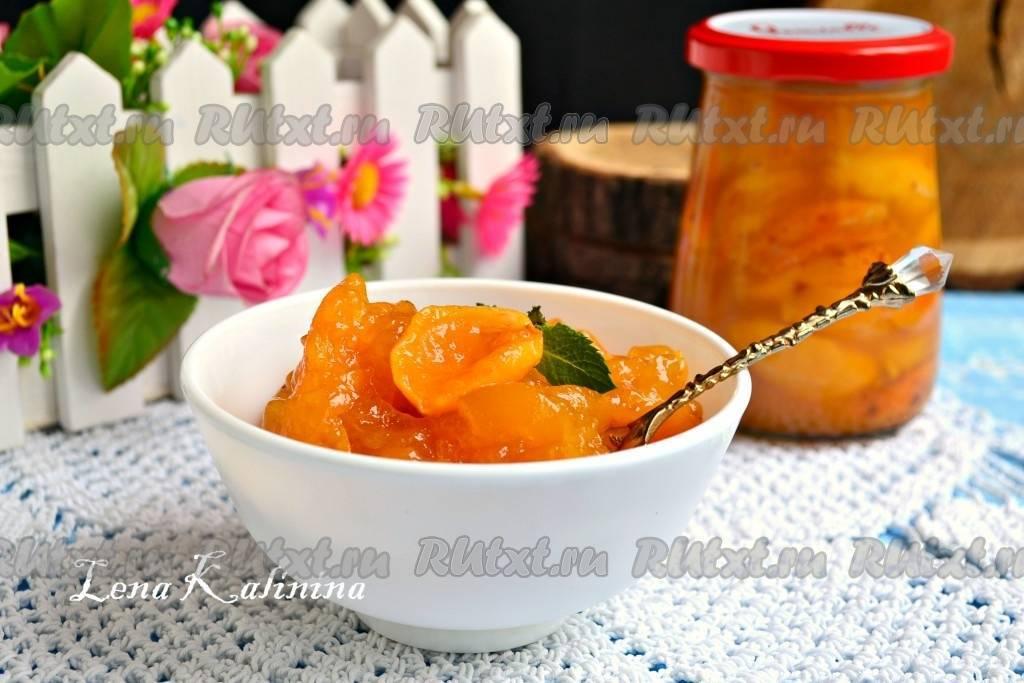 Пошаговый рецепт приготовления абрикосового варенья с желатином на зиму
