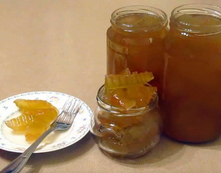 Варенье из арбузных корок на зиму — 6 самых простых пошаговых рецептов