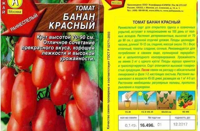 Томат банан: агротехника, отзывы, описание разновидностей