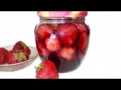 Клубничное варенье на зиму с целыми ягодами — 6 рецептов густого варенья из клубники