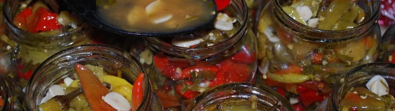 ТОП 7 рецептов приготовления квашеного перца на зиму