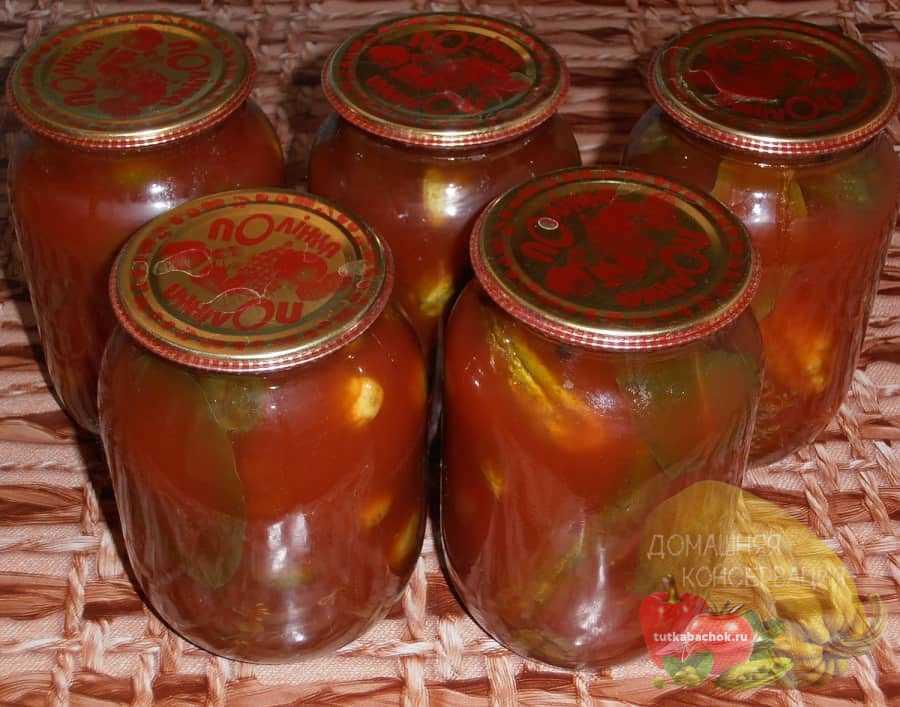 4 лучших рецепта приготовления на зиму капусты в томатном соке