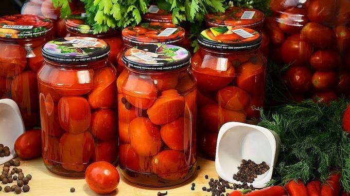 Зеленые помидоры с горчицей на зиму