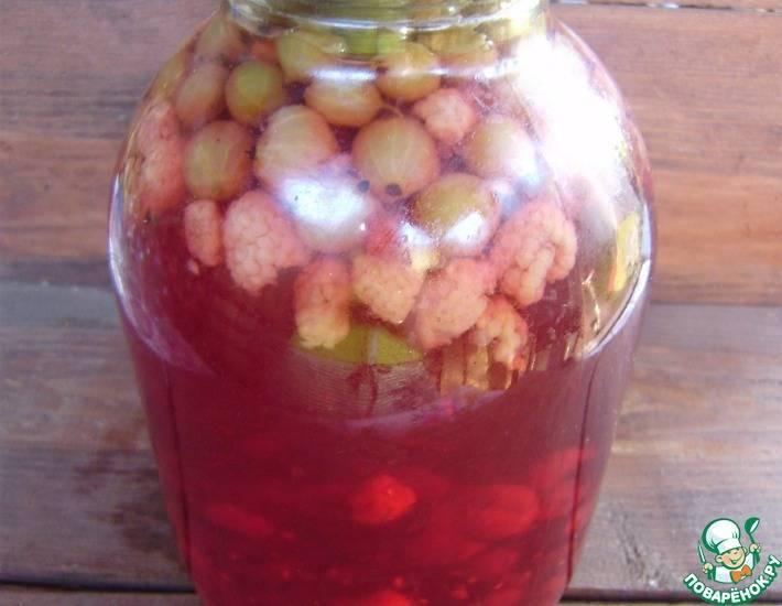 Варенье из крыжовника и малины: вкусный рецепт приготовления на зиму