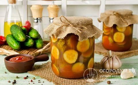 Салат на зиму из огурцов и помидоров: 22 домашних вкусных рецепта