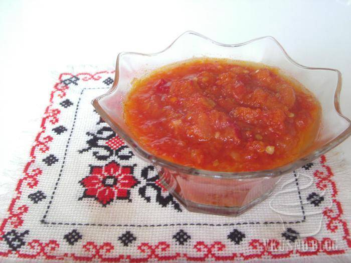 Как правильно приготовить айвар по-сербски в домашних условиях