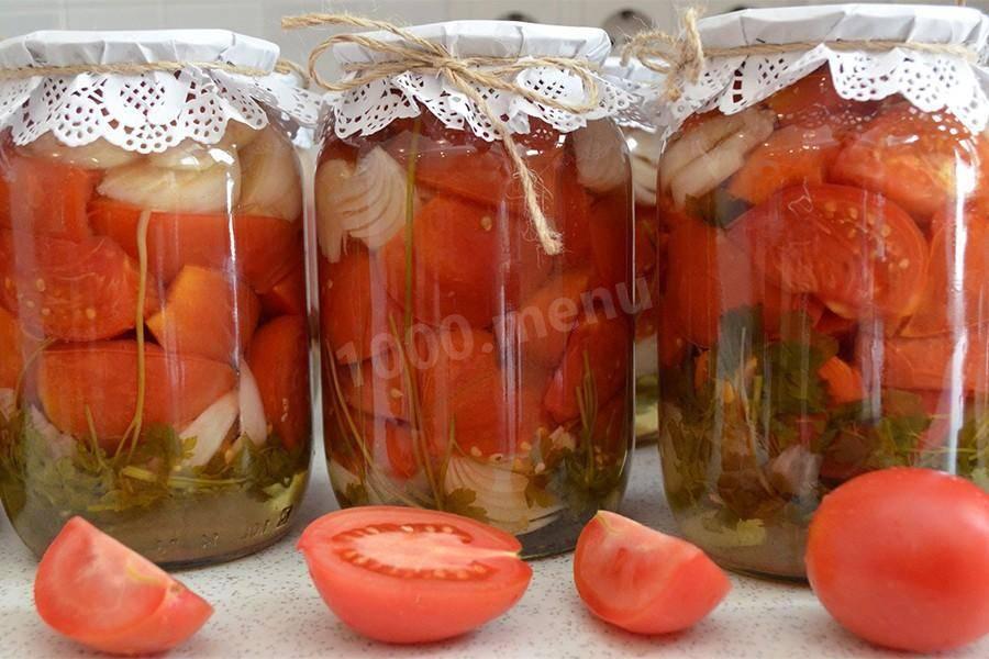 Зеленые помидоры пальчики оближешь на зиму дольками