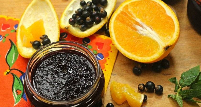 Варенье из черной смородины - 5 рецептов